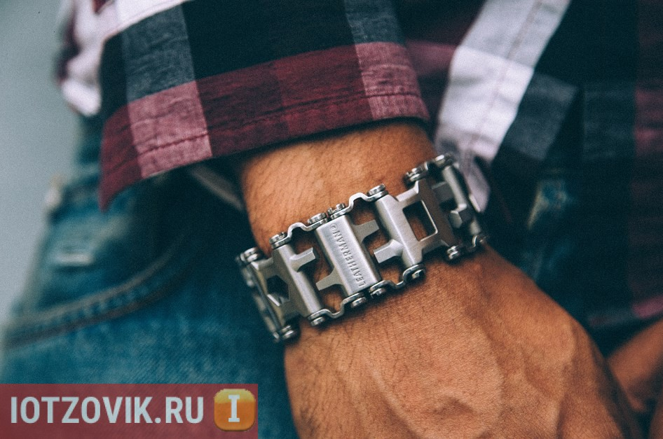 Часы-мультитул Leatherman Tread Tempo - стильные часы