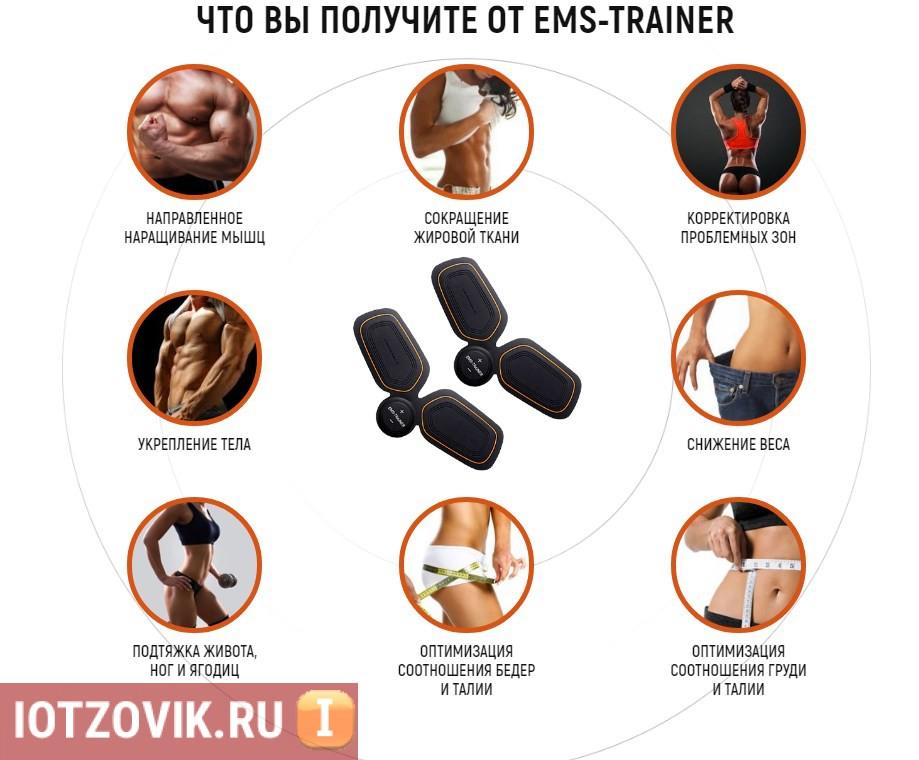 Преимущества EMS Trainerм