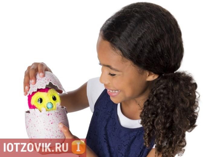 Радость детская - Hatchimals интерактивная игрушка