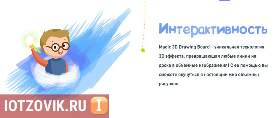 Доска для Рисования 3D п-ва
