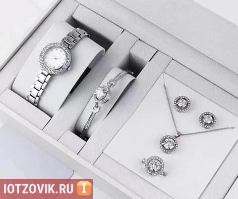 Набор от Dior Silver