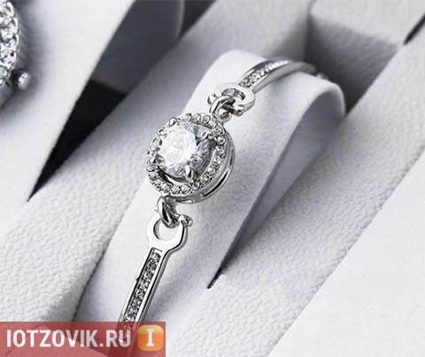 Браслет от Dior Silver