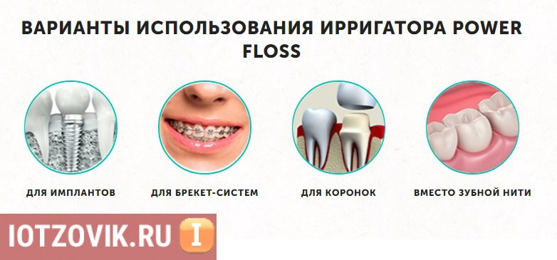 Ирригатор Power Floss для зубов