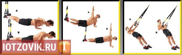 Тренировочные петли TRX FitStudio Suspension