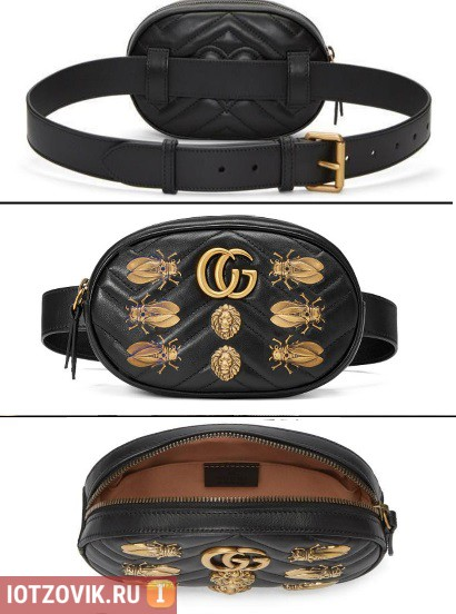 Gucci GG Marmont с жуками