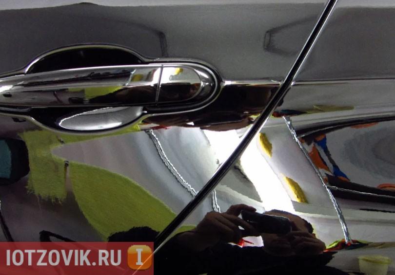 полироль авто до зеркального блеска