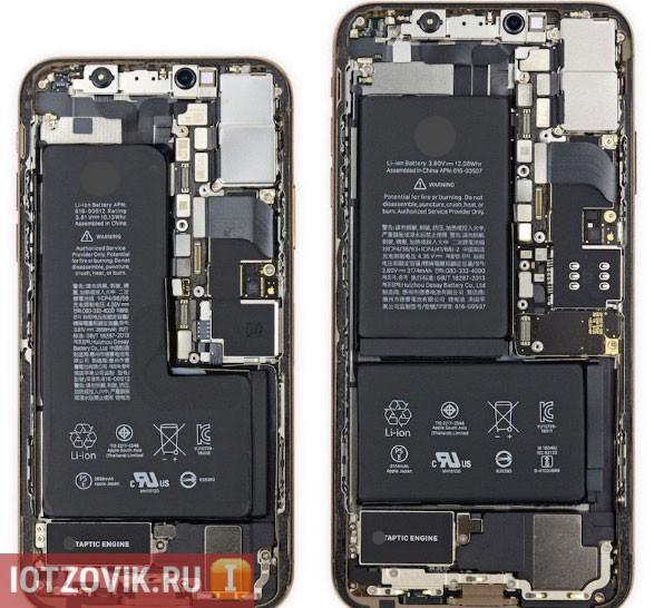 железо в копии iPhone XS и iPhone XS Max