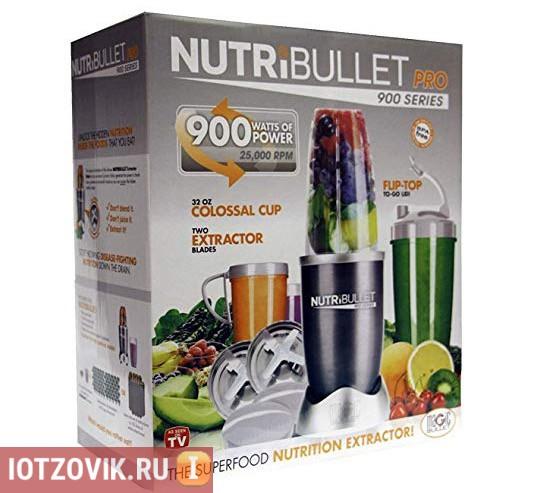 как выглядит упаковка NUTRI BULLET