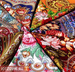 Платки женские из Павловского Посада