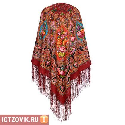 павловопосадские шерстяные платки