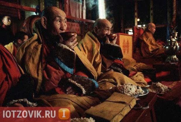 чай от монахов