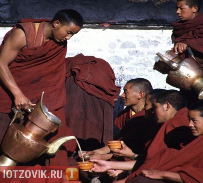чай тибетских монахов