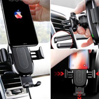 держатель для телефона с зарядкой