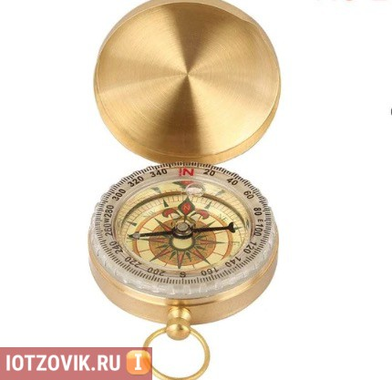 металлический компас