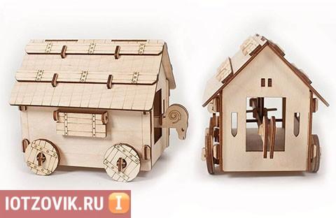 Детский конструктор Деревянная рыцарская крепость отзывы