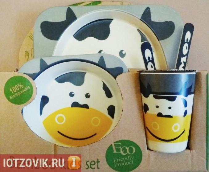 Happy Kids - бамбуковая посуда для детей отзывы