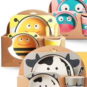 Бамбуковая посуда HAPPY KIDS