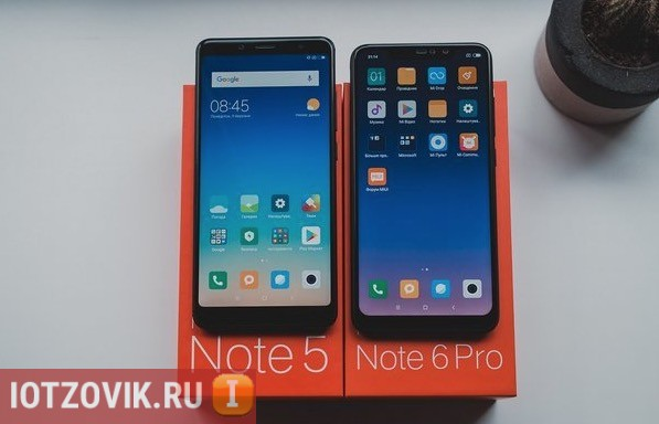 Xiaomi Redmi Note 5 сравнение с Xiaomi Redmi Note 6