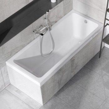 стандартная акриловая ванна