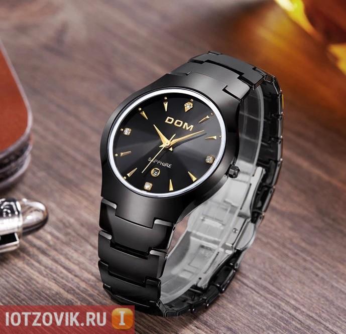 Часы с сапфировым стеклом